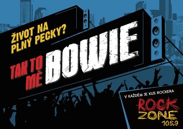 V každém je kus rockera - Bowie