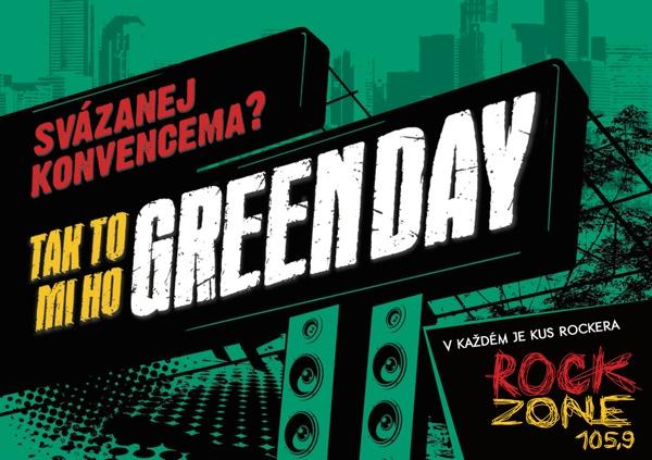 V každém je kus rockera - Greenday