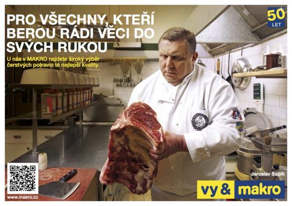 Nová značka Vy & Makro / Jaroslav Sapík