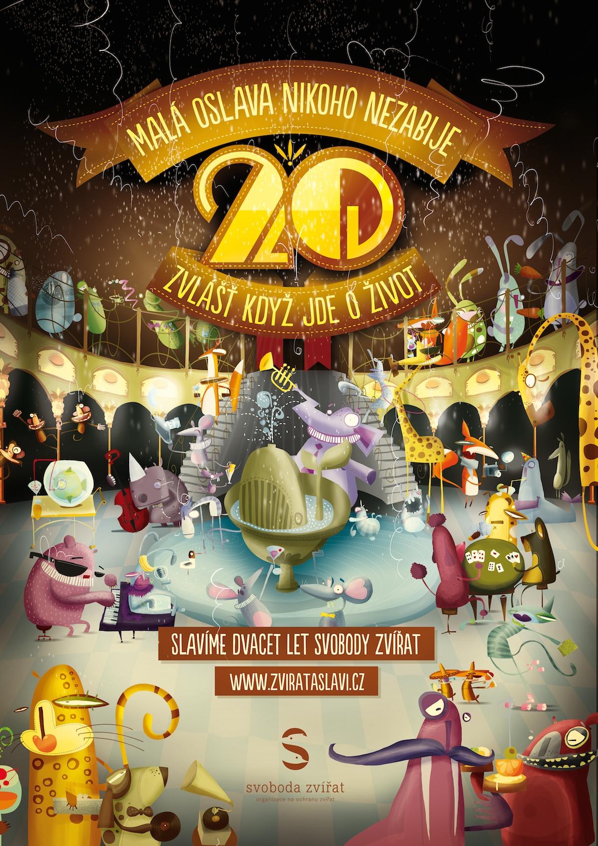 Zvířata slaví 20 let
