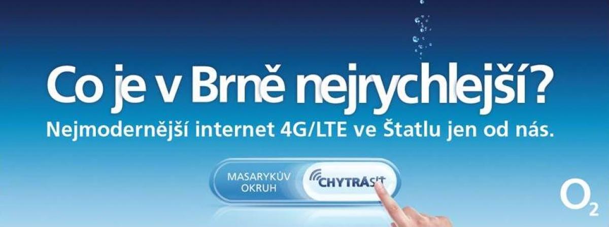 Chytrá síť - Co je v Brně nejrychlejší?