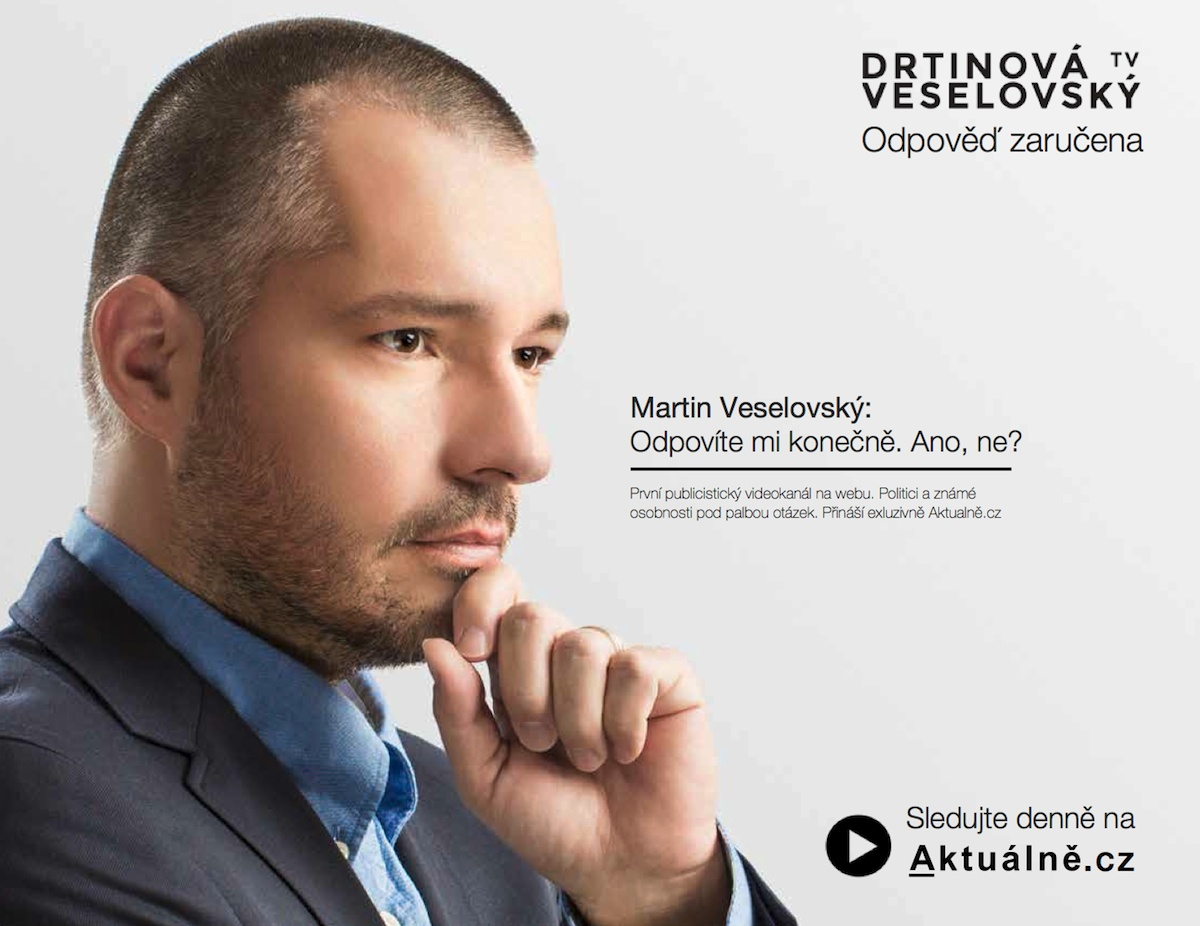 Odpověď zaručena / Martin Veselovský