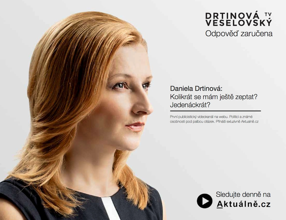 Odpověď zaručena / Daniela Drtinová