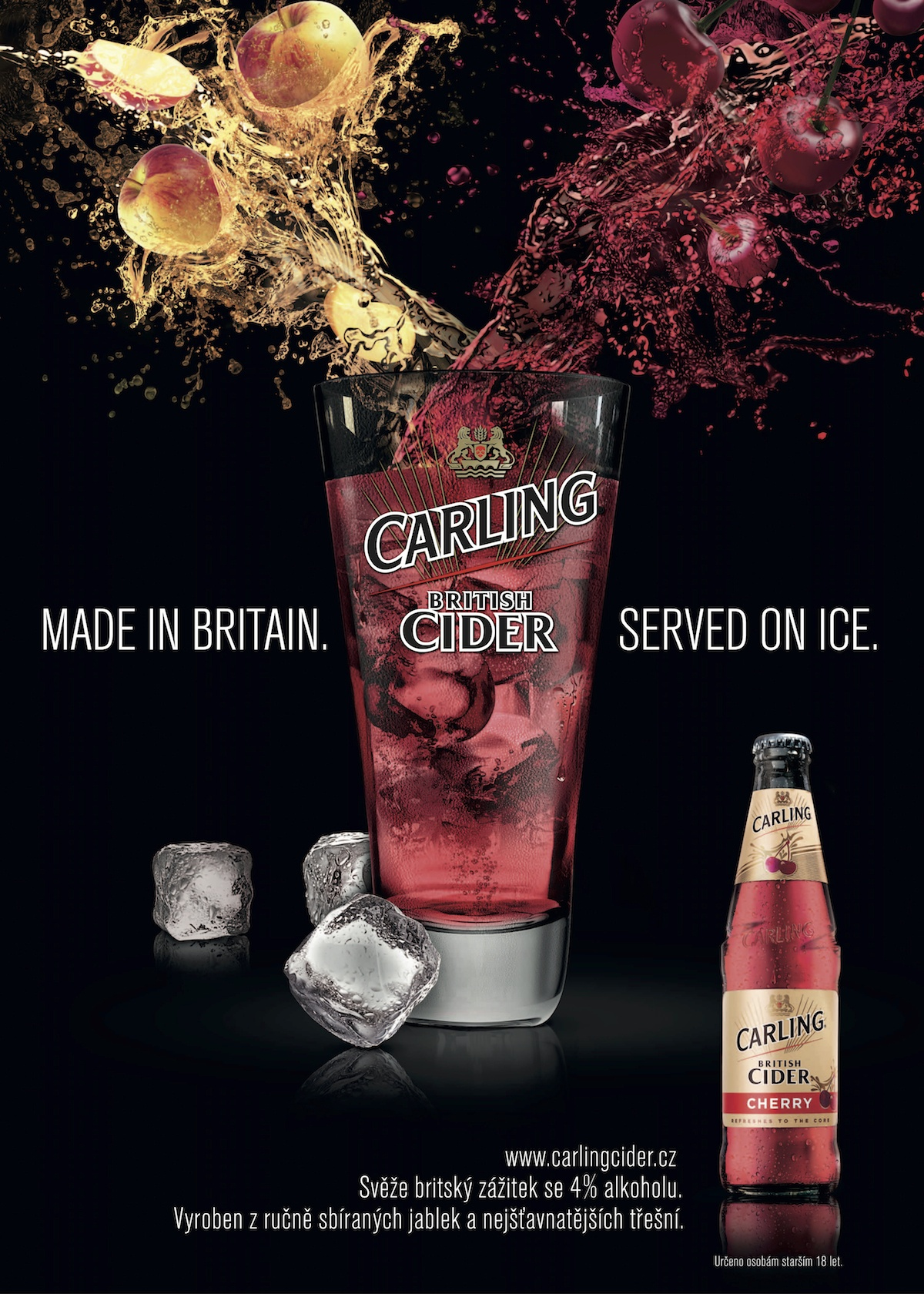 Made in Britain. Served on ice.