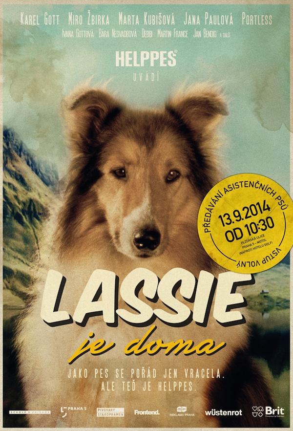 Lassie je doma