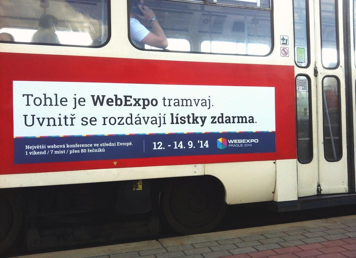 Lístky v tramvaji