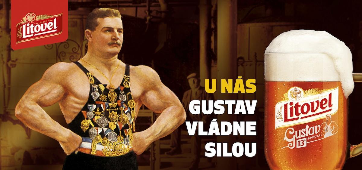 U nás Gustav vládne silou