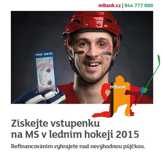 mBank refinancuje s hokejem