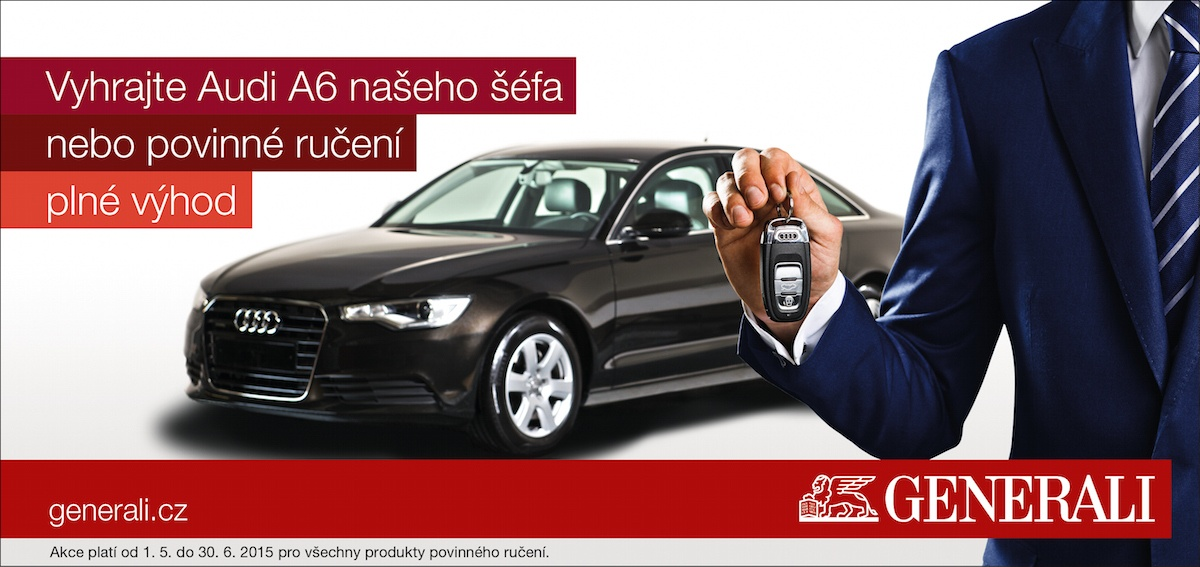 Vyhrajte Audi A6 našeho šéfa