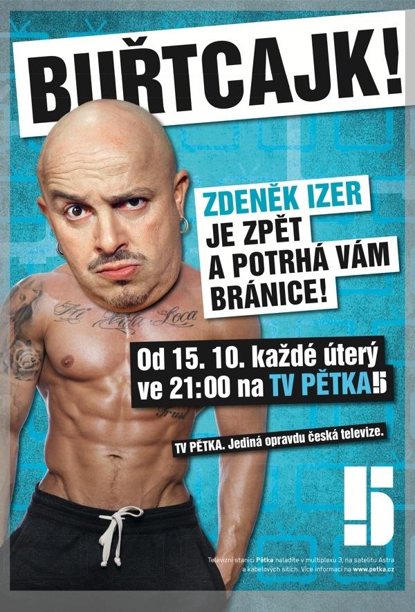 Buřtcajk / Zdeněk Izer