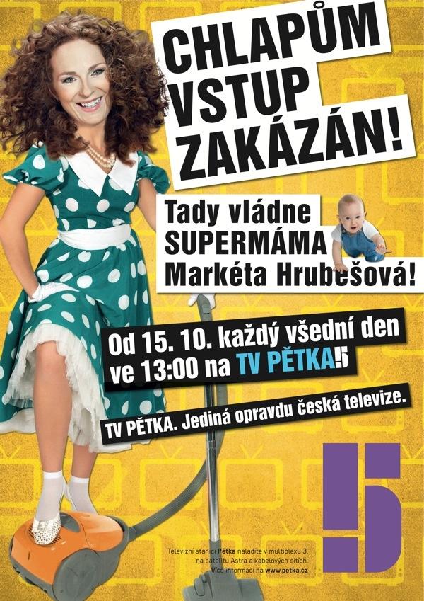 Supermáma / Markéta Hrubešová
