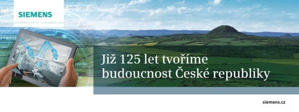 Již 125 let tvoříme budoucnost České republiky