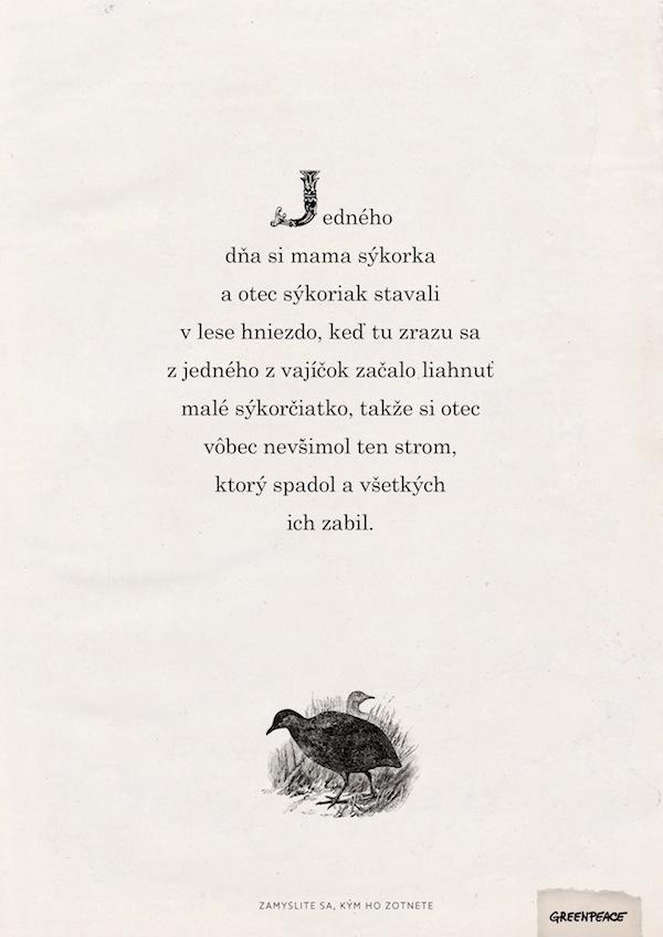 Pohádky / Ptáčci