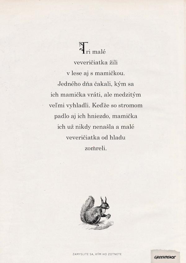 Pohádky / Veverky