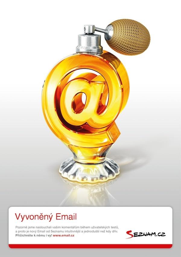 Vyvoněný email