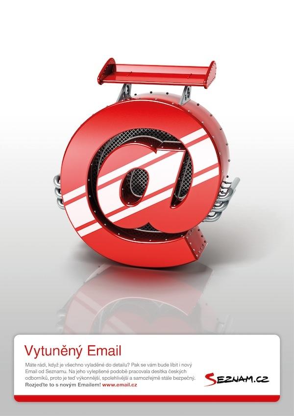 Vytuněný email