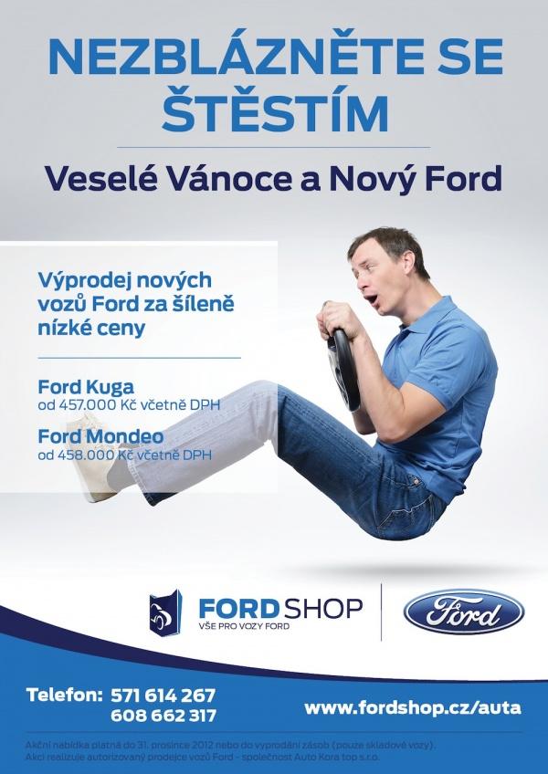 Veselé Vánoce a Nový Ford