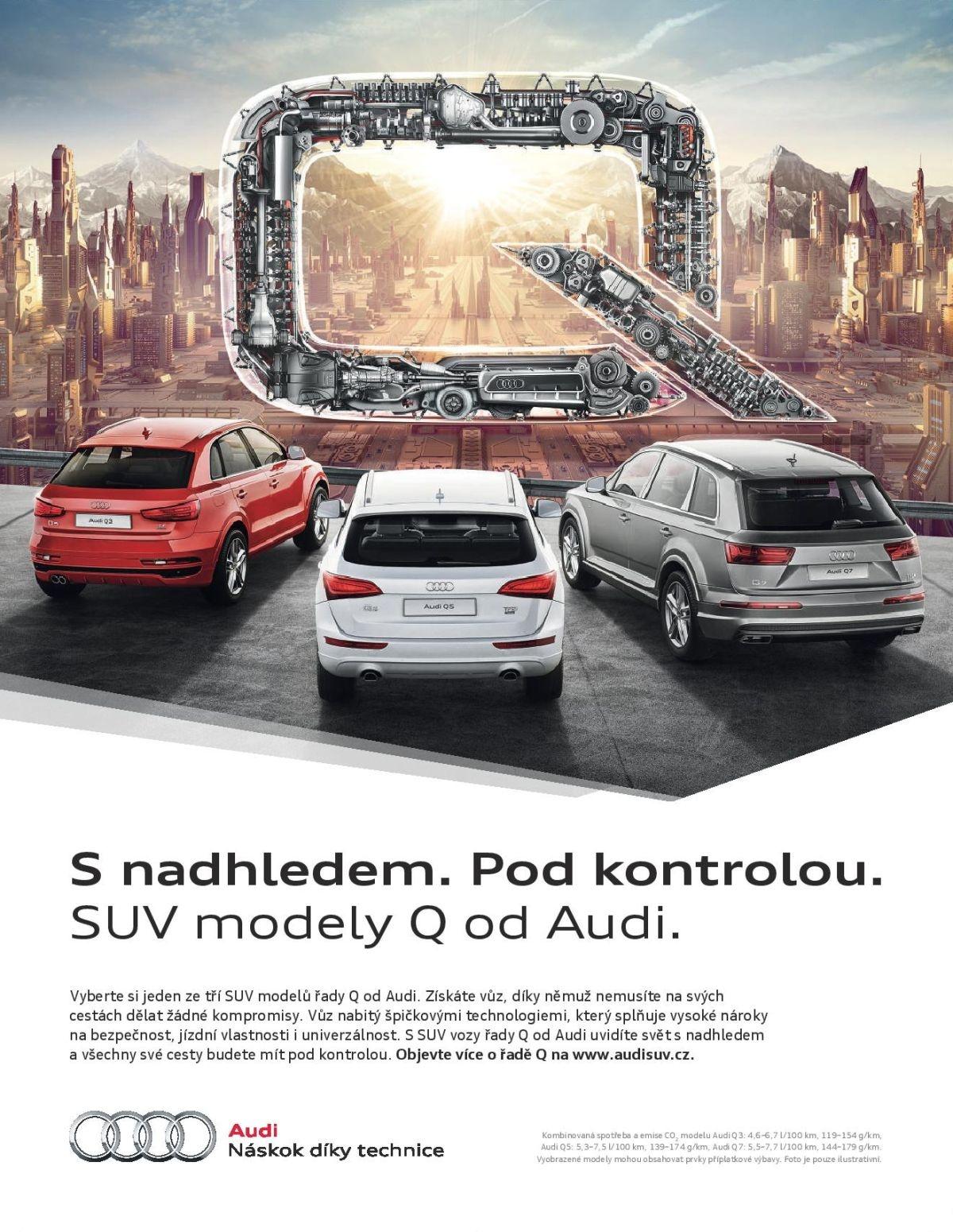 Modely Q od Audi