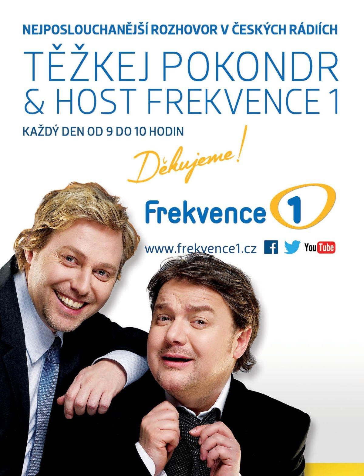 Těžkej Pokondr & host Frekvence 1