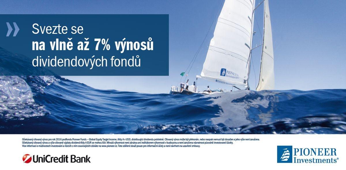 Svezte se na vlně až 7% výnosů dividendových fondů