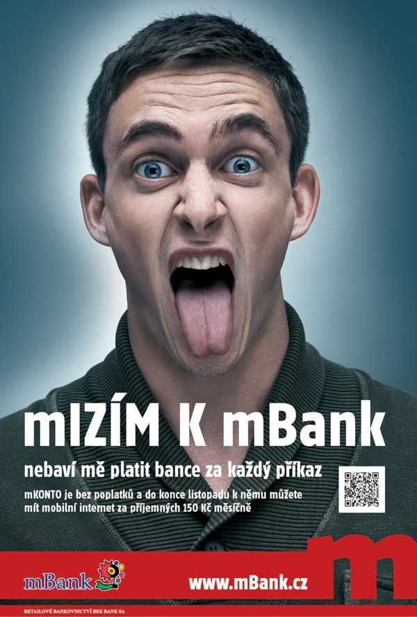 Mizím k mBank!