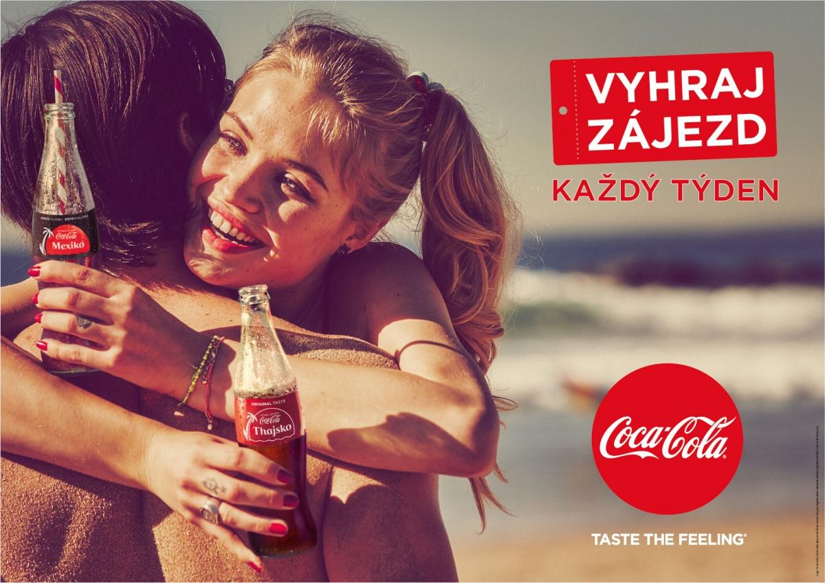 S Coca-Colou na Jamajku