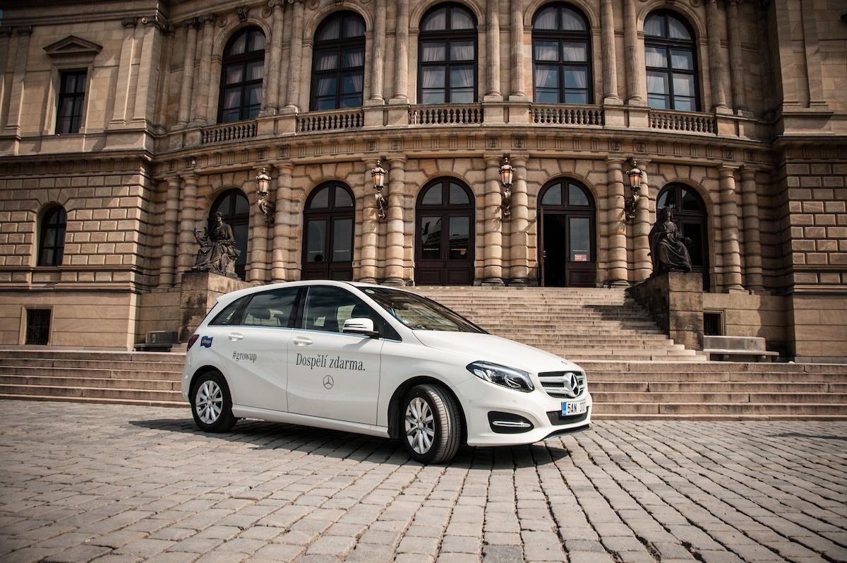 Jízda po Praze s Mercedes-Benz