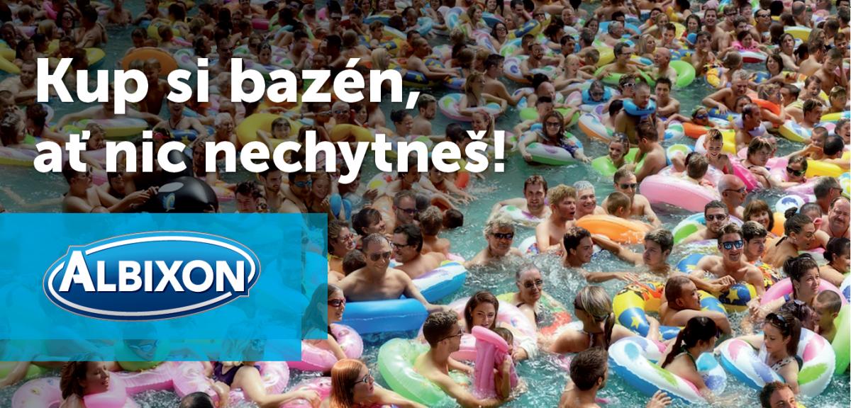 Kup si bazén, ať víš, v čem plaveš