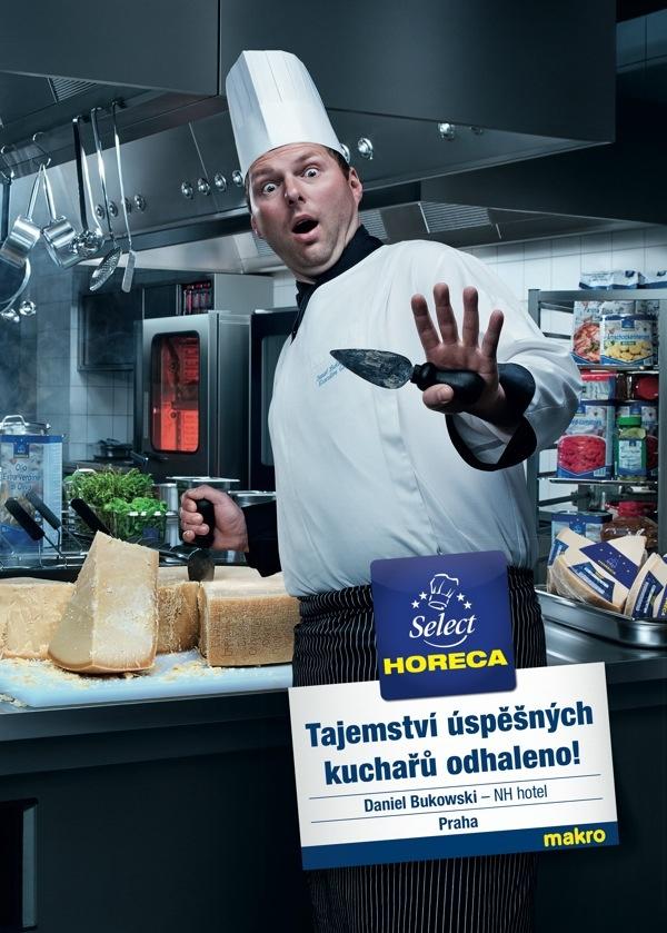 Tajemství šéfkuchařů odhaleno / Daniel Bukowski