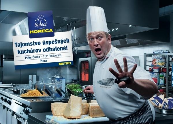 Tajemství šéfkuchařů odhaleno / Peter Ďurčo