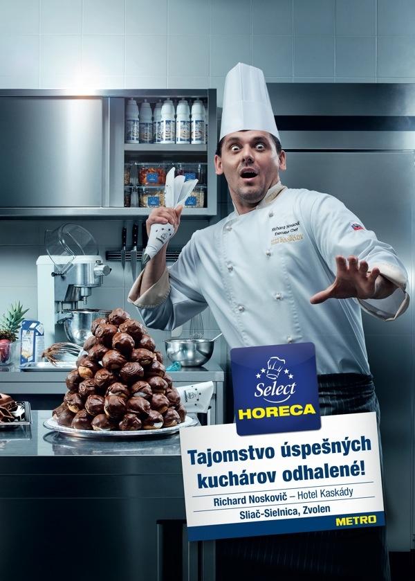 Tajemství šéfkuchařů odhaleno / Richard Noskovič