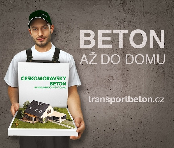 Beton až do domu