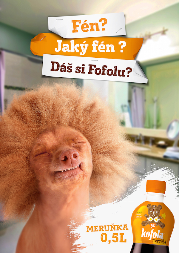 Reklama na Kofolu
